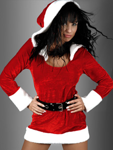 Лучший мой подарочек – это ты…в костюме снегурочки!