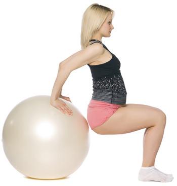 Тренируем ноги во время беременности