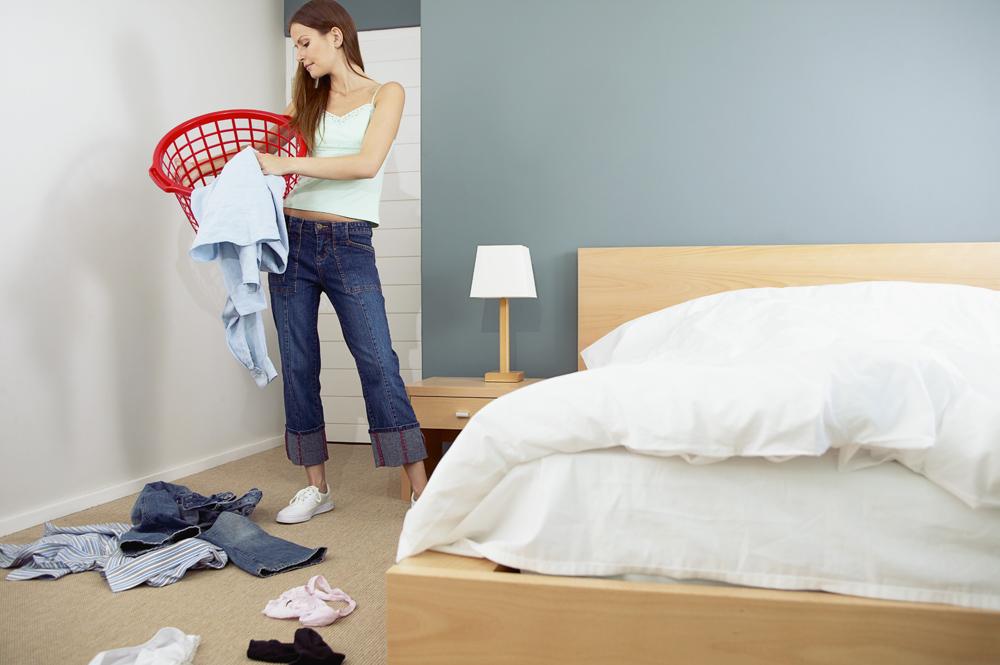 Сонник убирать в комнате