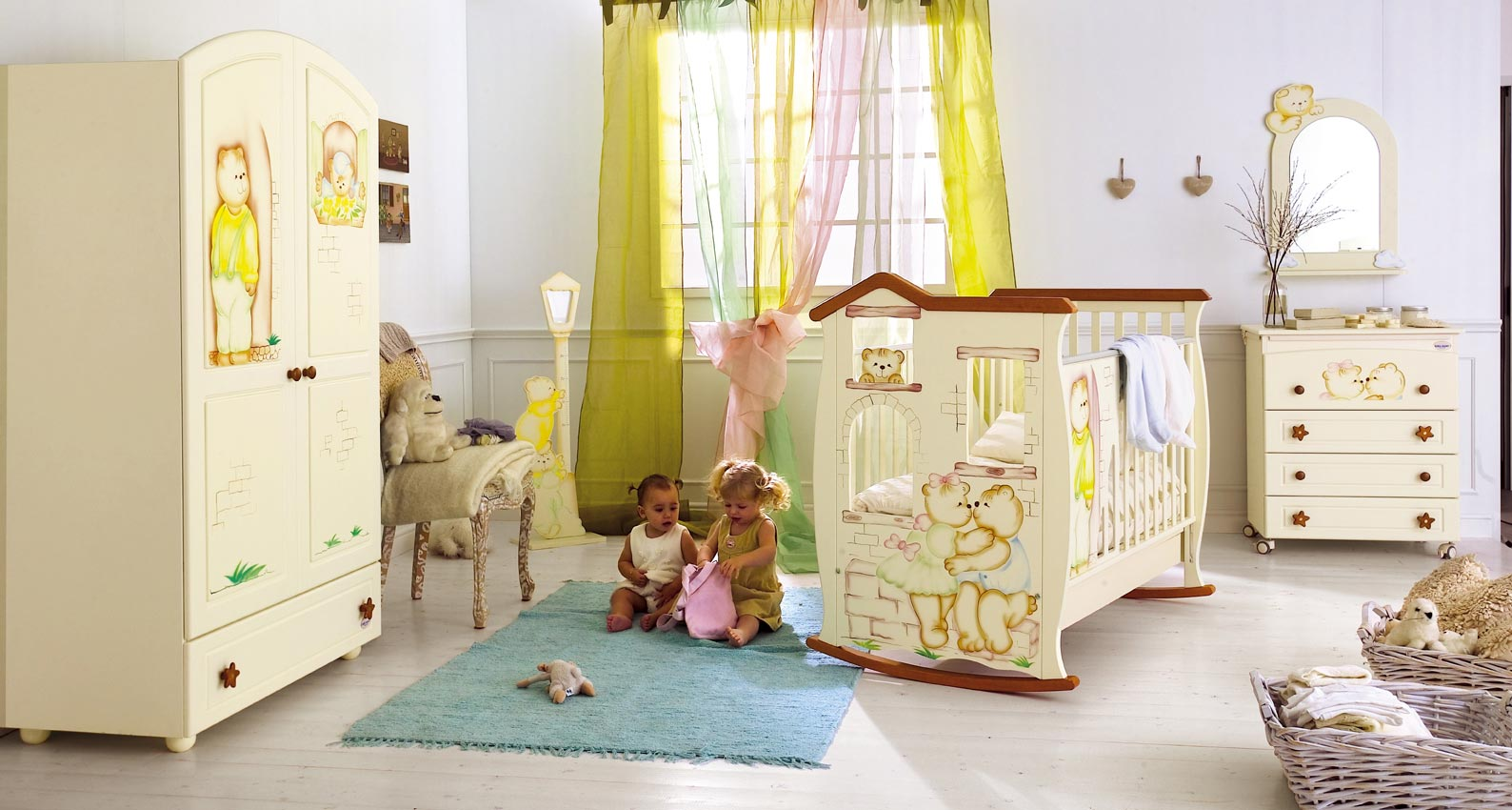 Fascinating Baby Rooms For Your Little Ones