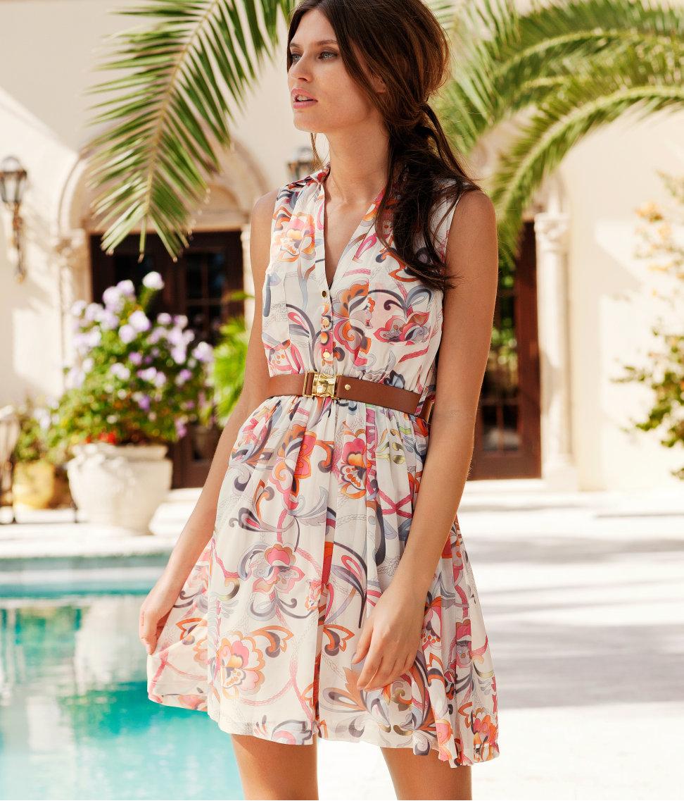 H m платья лето