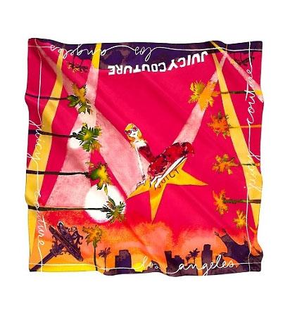 Модные платки осени 2012 от Juicy Couture