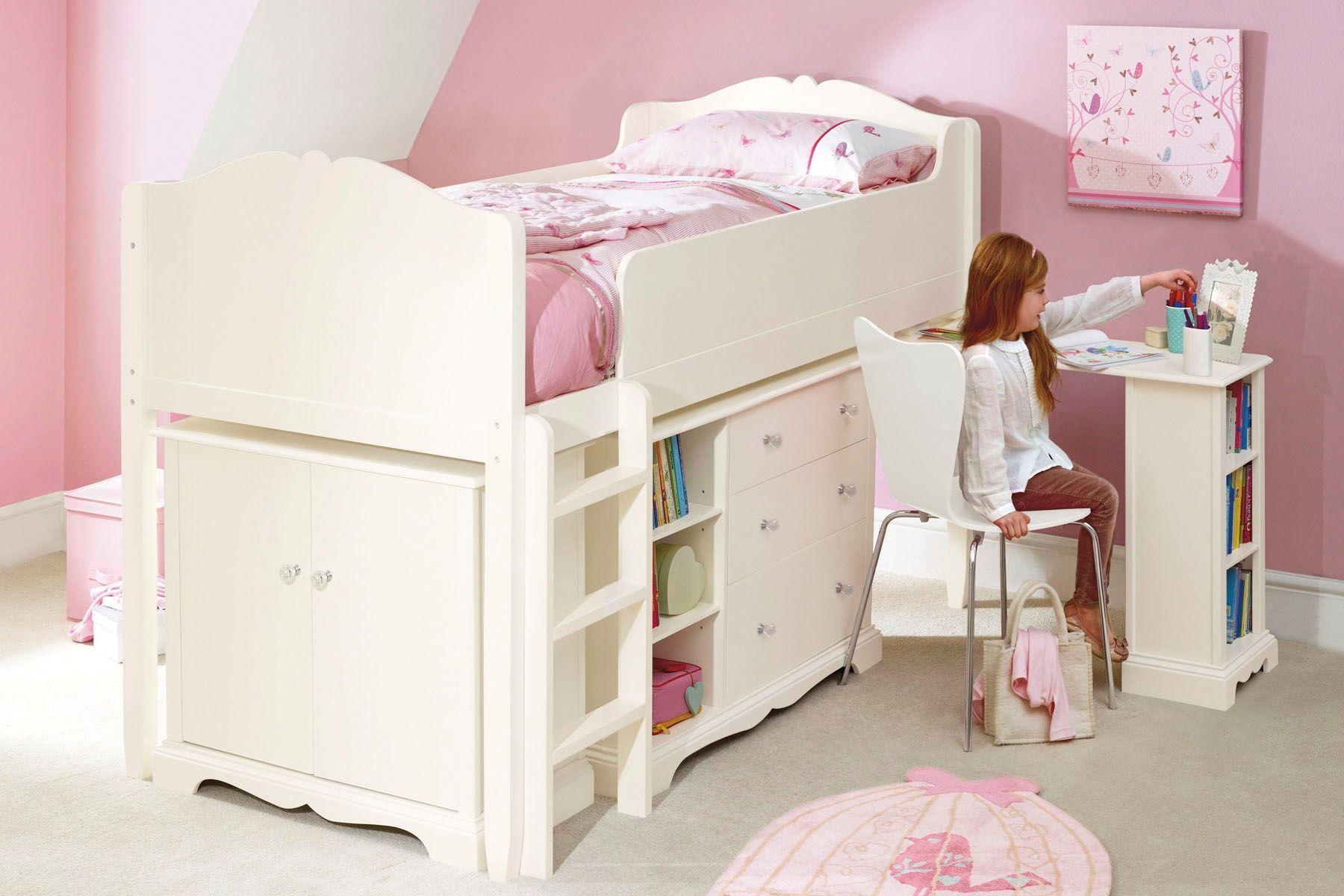 Кровать для девочки 5 лет 138