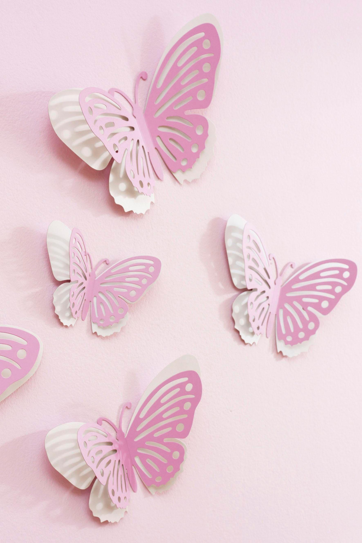 Украшения бабочки на шторы